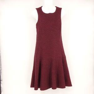 ANTHROPOLOGIE Dress Sleeveless A-Line Wool ❤